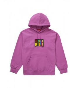 Худи Supreme Enterprises  Bright Purple