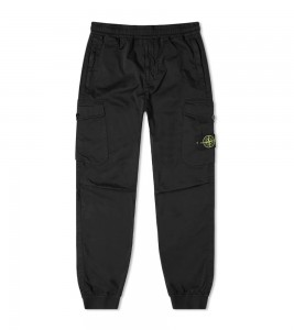 Штаны Stone Island Elasticated Waist Cargo Pants Black