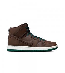 Кроссовки Nike Sb Dunk High Baroque Brown Vegan Leather