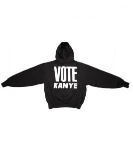 Худи Kanye West Vote Kanye Black