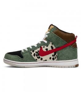 Кроссовки Nike SB Dunk High Dog Walker - Фото №2