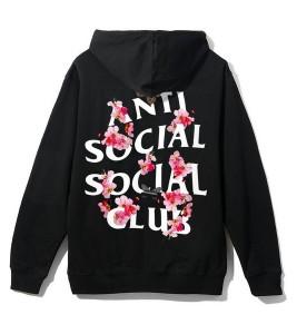 Худи Anti Social Social Club Kkoch Black