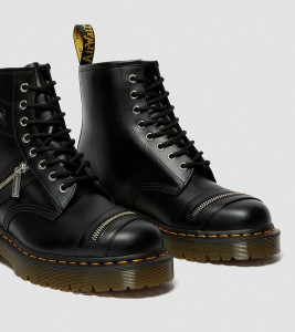 Ботинки Dr. Martens 1460 BEX LEATHER ZIPPER BOOTS - Фото №2