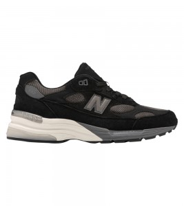 Кроссовки New Balance 992 Black Grey (Made in USA)