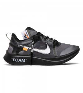 Кроссовки Off-White x Nike Zoom Fly SP Black