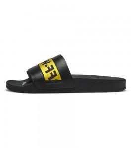 Кроссовки Off-White Sliders 'Black Yellow'