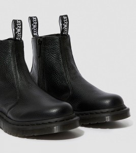 Ботинки Dr. Martens 2976 WOMEN'S LEATHER ZIPPER CHELSEA BOOTS - Фото №2