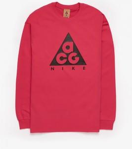 Лонгслив Nike NRG ACG Logo Pink