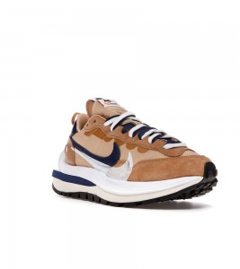 Кроссовки Nike Vaporwaffle sacai Sesame Blue Void - Фото №2