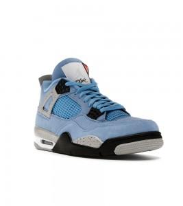 Кроссовки Jordan 4 Retro University Blue - Фото №2