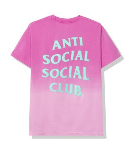 Футболка Anti Social Social Club Gone Pink