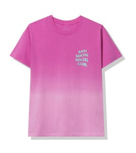 Футболка Anti Social Social Club Gone Pink - Фото №2