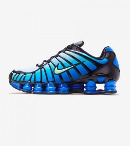Кроссовки Nike Shox TL Green Blue