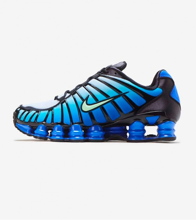 Кроссовки Nike Shox TL Green Blue