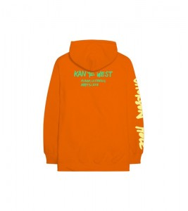 Худи Kanye West Wyoming Orange - Фото №2