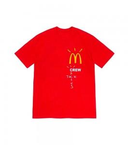 Футболка Travis Scott x McDonald's Crew Red