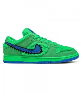 Кроссовки Grateful Dead x Nike SB Dunk Low Green Bear