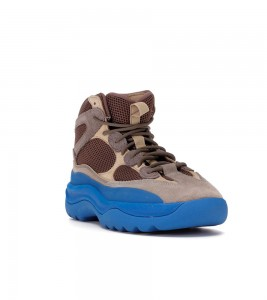 Кроссовки adidas Yeezy Desert Boot Taupe Blue - Фото №2