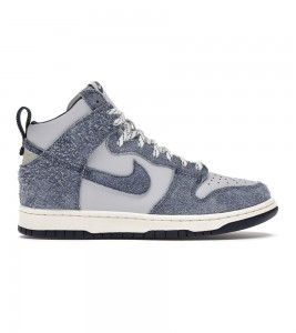 Кроссовки Notre x Nike Dunk High AB Blue Void