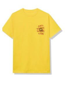 Футболка Anti Social Social Club Theories Yellow - Фото №2