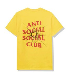 Футболка Anti Social Social Club Theories Yellow