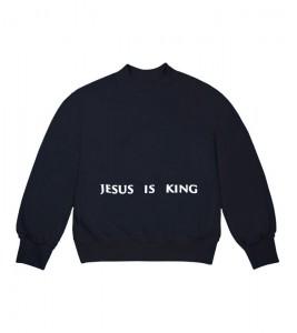 Свитшот Kanye West Jesus Is King Chicago Painting Crewneck Navy