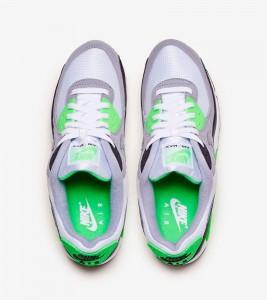 Кроссовки Nike Air Max 90 Lime - Фото №2