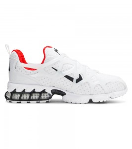 Кроссовки Stussy x Nike Air Zoom Spiridon Kukini White - Фото №2