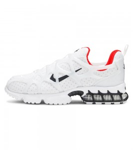 Кроссовки Stussy x Nike Air Zoom Spiridon Kukini White