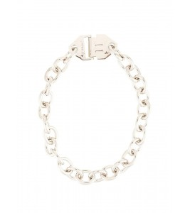 Цепочка OFF-WHITE Chain Necklace Silver in Metal with Silver-tone 48 см