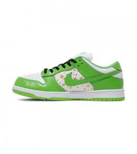 Кроссовки Nike Supreme x Dunk Low OG SB QS 'Mean Green' - Фото №2