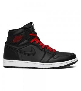 Кроссовки Air Jordan 1 Retro High Black Gym Red
