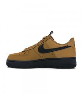 Кроссовки Nike Air Force 1 Low Wheat Black - Фото №2