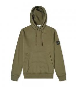 Худи Stone Island Garment Dyed Hoodie Green