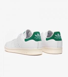Кроссовки adidas Stan Smith Swarovski White Green - Фото №2