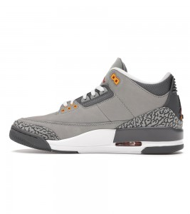 Кроссовки Air Jordan 3 Retro Cool Grey 2021 - Фото №2