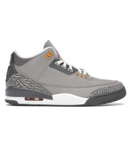 Кроссовки Air Jordan 3 Retro Cool Grey 2021