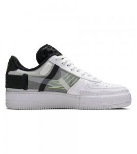 Кроссовки Nike Air Force 1 Type White Black - Фото №2