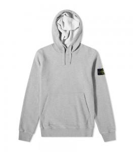 Худи Stone Island Garment-Dyed Hoodie Grey