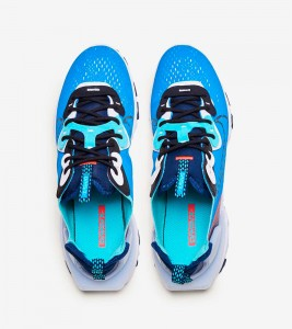 Кроссовки Nike React Vision Laser Blue - Фото №2
