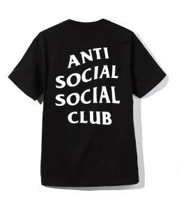 Футболка Anti Social Social Club Logo 2 (FW19) Black