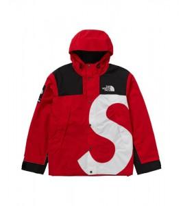 Куртка Supreme х The North Face S Logo Mountain Jacket Red