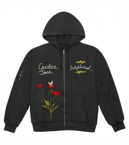 Худи Travis Scott Cactus Jack x Neighborhood Carousel T-Shirt Grey - Фото №2