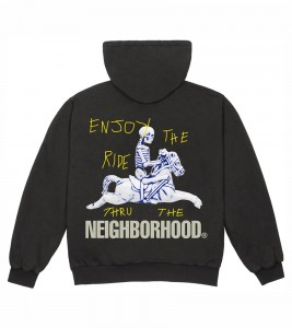 Худи Travis Scott Cactus Jack x Neighborhood Carousel T-Shirt Grey
