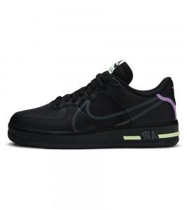 Кроссовки Nike Air Force 1 React Black