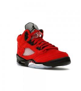 Кроссовки Jordan 5 Retro Raging Bull Red 2021 (GS) - Фото №2