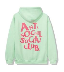 Худи Anti Social Social Club Complicated Green