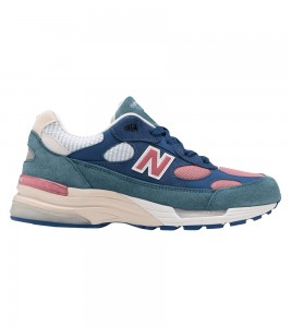 Кроссовки New Balance 992 Blue Teal Rose