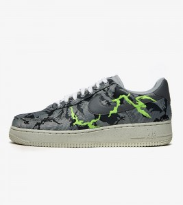 Кроссовки Nike Air Force 1 LX Light Smoke Grey Embroidery