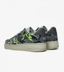 Кроссовки Nike Air Force 1 LX Light Smoke Grey Embroidery - Фото №2